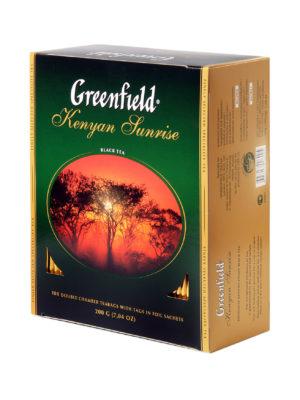 Greenfield – thé noir Kenyan Sunrise – 100 sachets