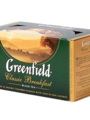 Greenfield – Thé noir Classic Breakfast – 25 sachets