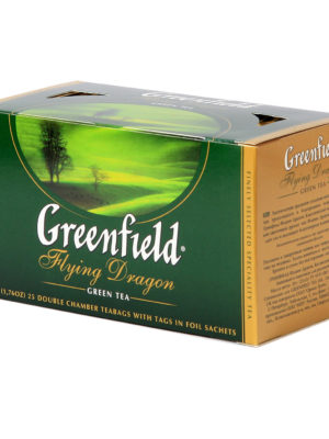 Greenfield – Thé vert Flying Dragon – 25 sachets