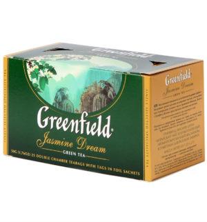 Greenfield - Thé vert aromatisé Jasmin Dream - 25 sachets