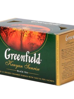 Greenfield – thé noir Kenyan Sunrise – 25 sachets