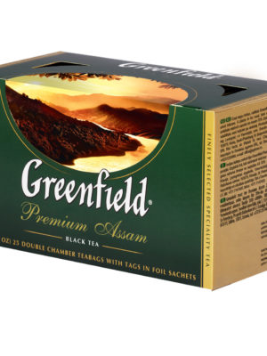 Greenfield – the noir Premium Assam – 25 sachets