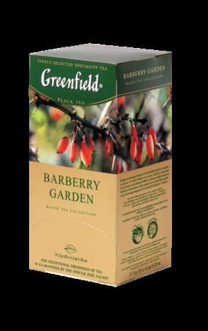 Greenfield - Thé noir aromatisé Barberry Garden - 25 sachets