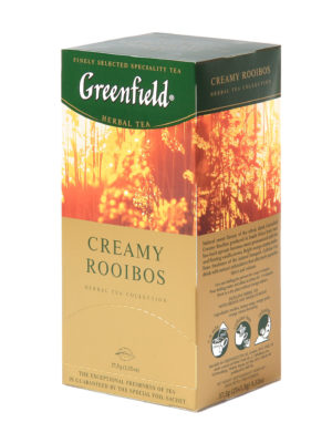 Greenfield – Infusion Creamy Rooibos – 25 sachets