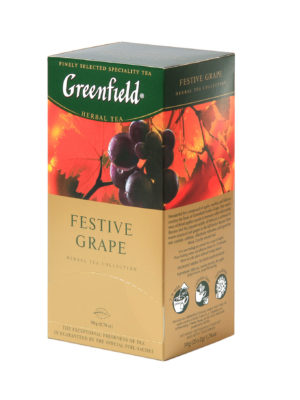 Greenfield – Infusion Festive Grape – 25 sachets