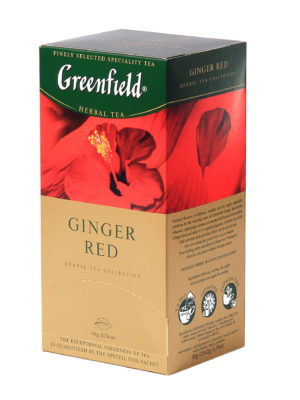 Greenfield – Infusion Ginger Red – 25 sachets
