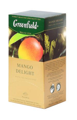 Greenfield - Thé vert aromatisé Mango Delight - 25 sachets
