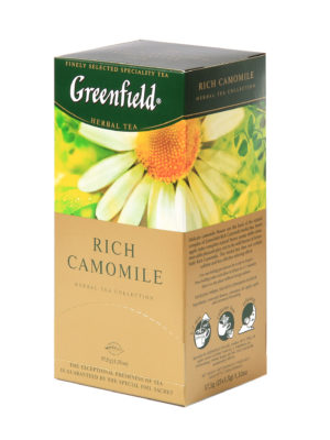 Greenfield – Infusion Rich Camomile – 25 sachets