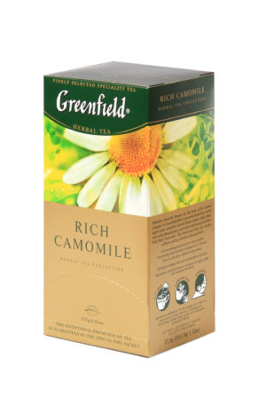 Greenfield - Infusion Rich Camomile - 25 sachets