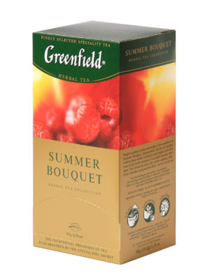 Greenfield – Infusion Summer Bouquet – 25 sachets