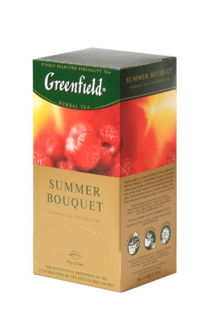 Greenfield - Infusion Summer Bouquet - 25 sachets