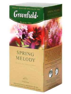 Greenfield- thé noir aromatisé Spring Melody – 25 sachets