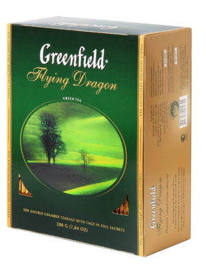 Greenfield – thé vert Flying Dragon – 100 sachets