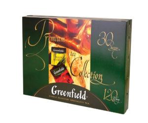 Greenfield - Boîte cadeau - 30 variétés - 120 sachets