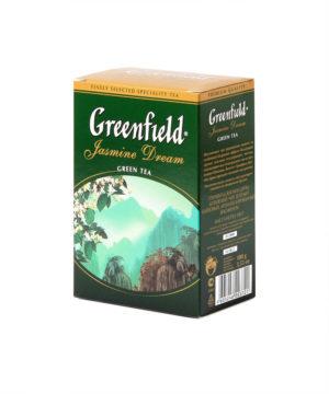 Greenfield - Thé vert aromatisé Jasmin Dream - Vrac 100 g