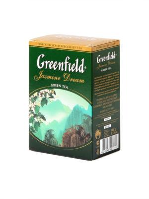 Greenfield – Thé vert aromatisé Jasmin Dream – Vrac 100 g