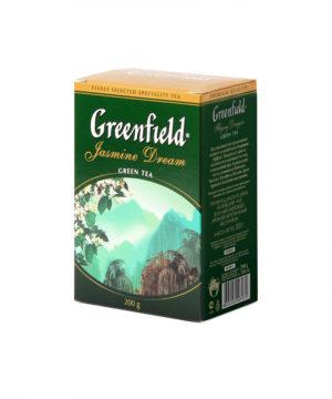 Greenfield - Thé vert aromatisé Jasmin Dream - Vrac 200 g