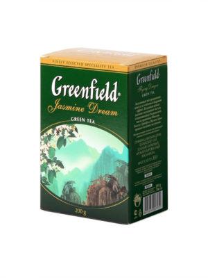 Greenfield – Thé vert aromatisé Jasmin Dream – Vrac 200 g
