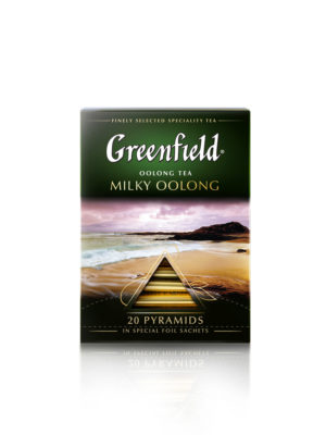 Greenfield – thé Milky Oolong – 20 pyramides