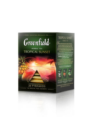 Greenfield – Infusion Tropical Sunset – 20 pyramides