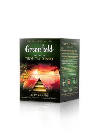 Greenfield - Infusion Tropical Sunset - 20 pyramides