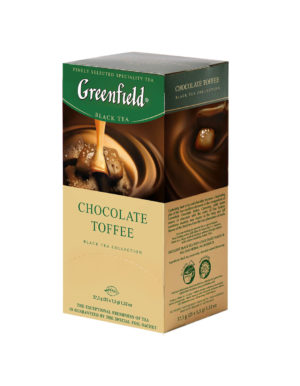 Greenfield - Thé noir aromatisé Chocolate Toffee - 25 sachets