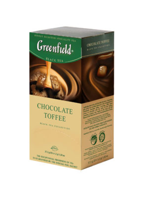 Greenfield – Thé noir aromatisé Chocolate Toffee – 25 sachets