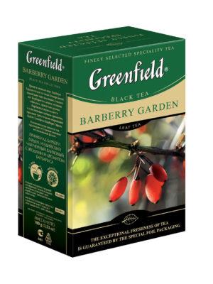 Greenfield – thé noir aromatisé Barberry Garden – Vrac 100g