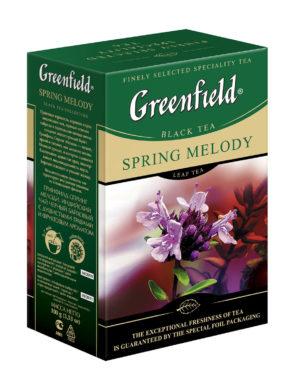 Greenfield - thé noir aromatisé Spring Melody - Vrac 100g