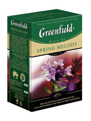 Greenfield – thé noir aromatisé Spring Melody – Vrac 100g