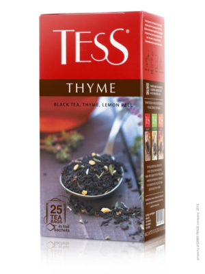 Tess – thé noir aromatisé Thyme – 25 sachets
