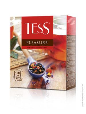 Tess – thé noir aromatisé Pleasure – 100 sachets