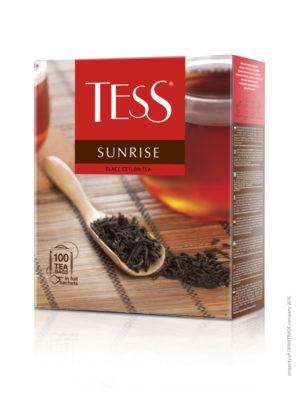 Tess – Thé noir Sunrise – 100 sachets