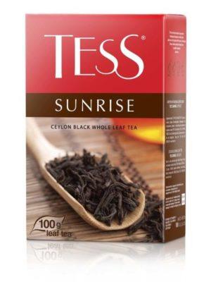 Tess – Thé noir Sunrise en vrac – 100g