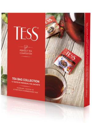 Assortiment de thés et d'infusions Tess