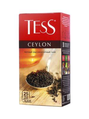 Tess – thé noir Ceylon – 25 sachets