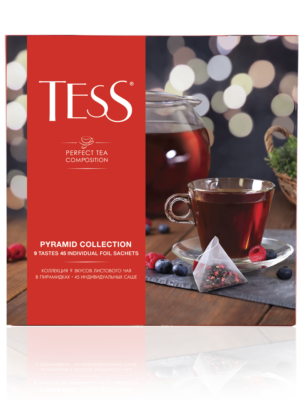 Tess – Assortiment – 9 variétés, 45 pyramides