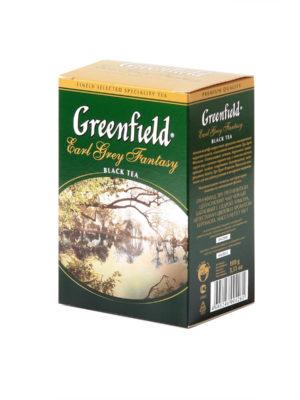 Greenfield – thé noir aromatisé Earl Grey Fantasy – Vrac 100 g
