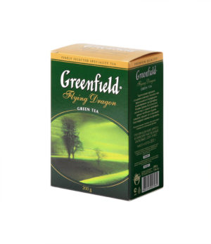 Greenfield - thé vert Flying Dragon - Vrac 200 g
