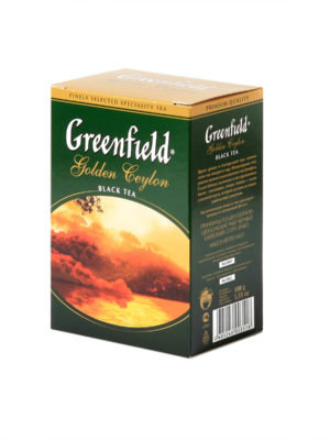 Greenfield – thé noir Golden Ceylon – Vrac 100 g