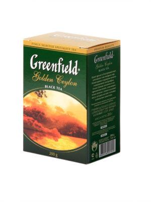 Greenfield – thé noir Golden Ceylon – Vrac 200 g