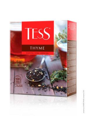 Tess – thé noir aromatisé – 100 sachets