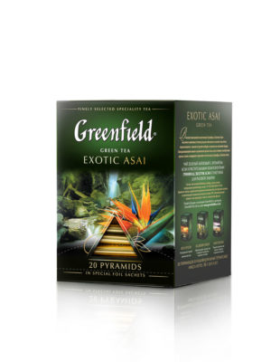 Thé Greenfield Exotic Asai