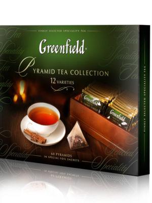 Greenfield – coffret cadeau – 12 variétés – 60 pyrapides